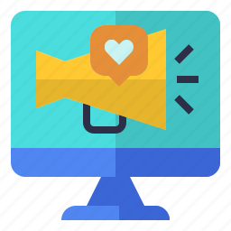 digital, marketing, online, web, website icon