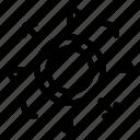 arrow, media, rating, reward, social icon