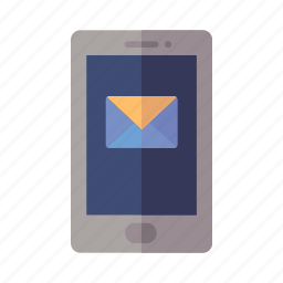 email, message, mobile phone, social media icon