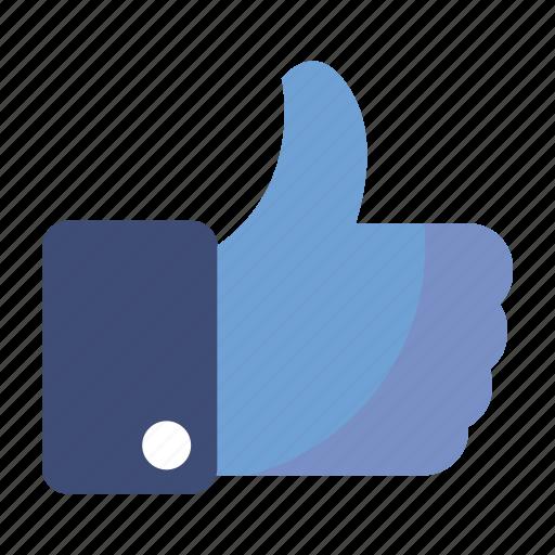 like, social media, thumbs up icon