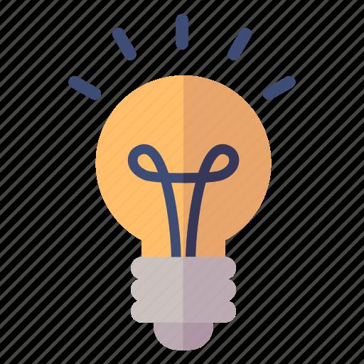 business idea, idea, light bulb icon
