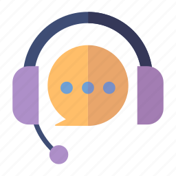 customer service, customer support, headphones icon