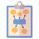 business plan, marketing plan, planning icon