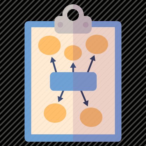 business plan, marketing plan, planning icon