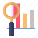 graph, track progress, web analytics icon