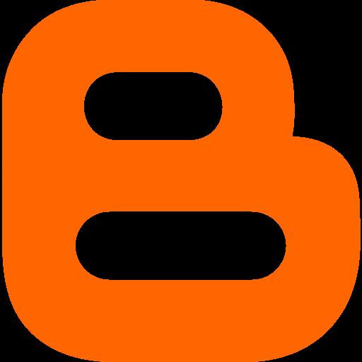 blogger, marketing, media, social, website icon