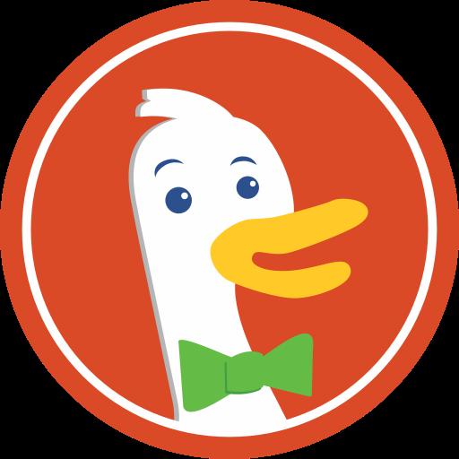 duckduckgo, marketing, media, social, website icon