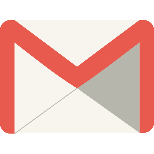 Gmail, website, media, marketing, social, mail, message icon