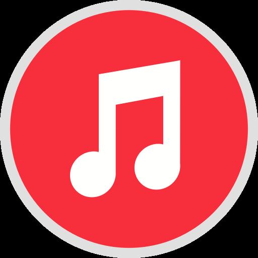 Itunes, sound, website, media, app, social, marketing icon