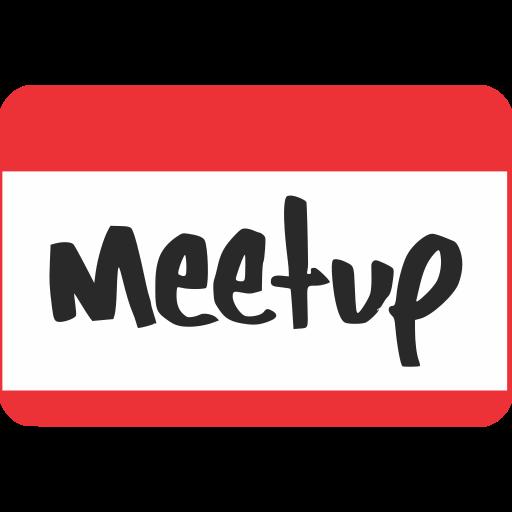 marketing, media, meetup, social, website icon