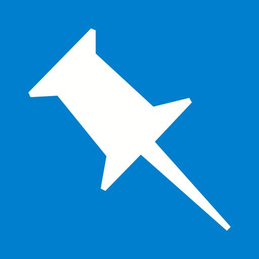 marketing, media, pinboard, social, website icon