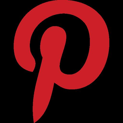 internet, marketing, media, online, pinterest, social, website icon