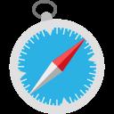 browser, marketing, media, safari, social, website icon