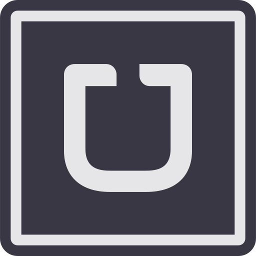 car, marketing, media, social, taxi, uber, website icon