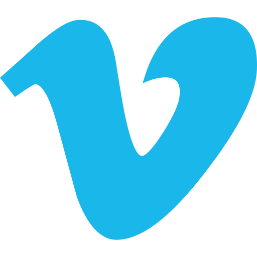 marketing, media, share, social, vimeo, website icon