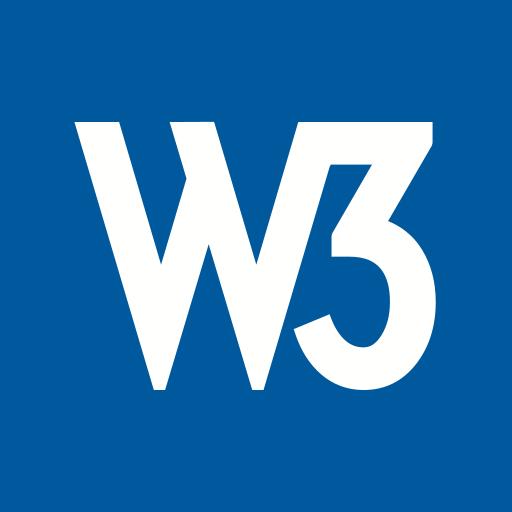 marketing, media, social, w3c, website icon
