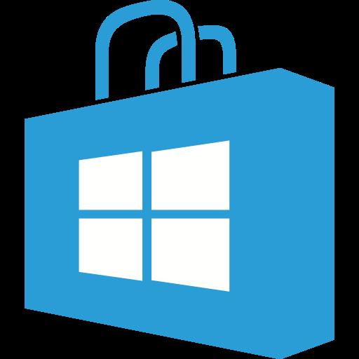 marketing, media, social, store, website, windows icon