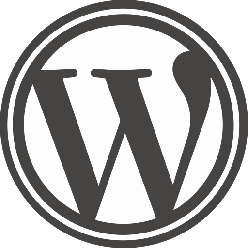 marketing, media, social, website, wordpress icon