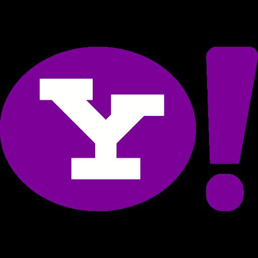 internet, marketing, media, network, social, website, yahoo icon