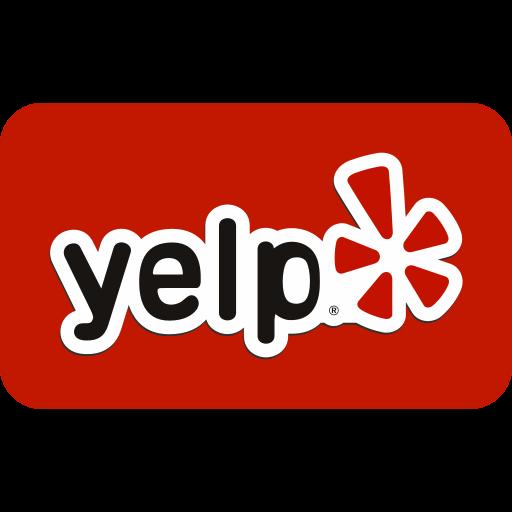 marketing, media, social, website, yelp icon