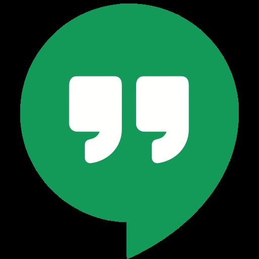 hangout, hangouts, marketing, media, social, website icon