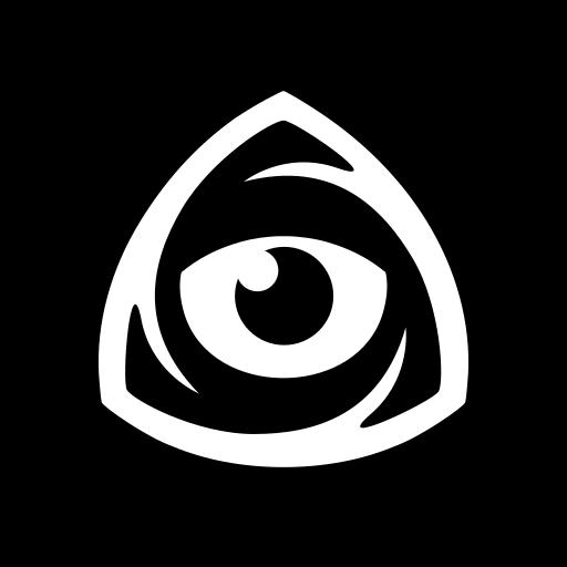 eye, icon market, iconfinder, iconfinder icon, iconfinder logo, internet, square icon