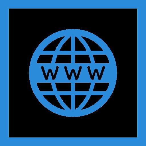 colored, line, media, social media, square, website, www icon