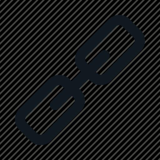 link, linked, media, social, tools, ui icon