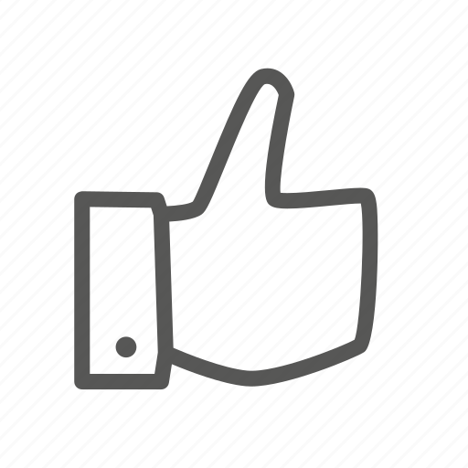 Favorite, like, rate, thumb, up icon - Download on Iconfinder