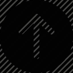 arrow, ascend, climb, direction, move, north, up icon