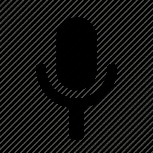 mic, microphone, minimalist, record icon