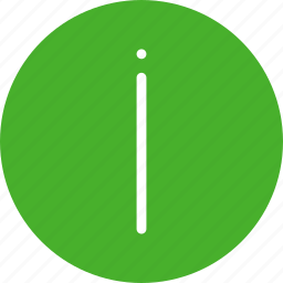 circle, green, help, info, information, learn more icon