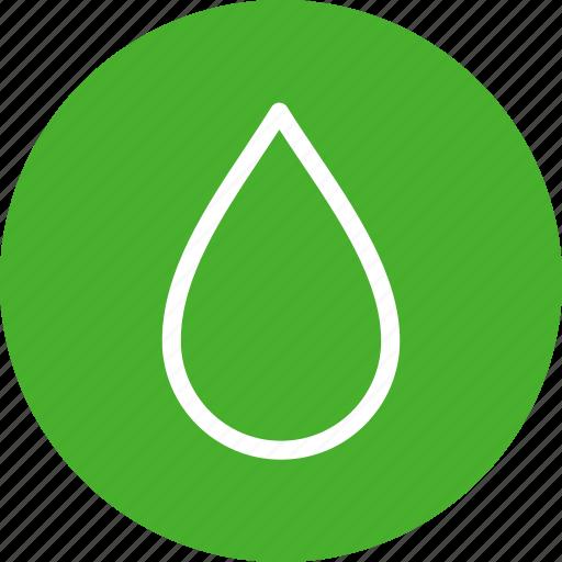 blood, circle, drop, green, water, weather icon