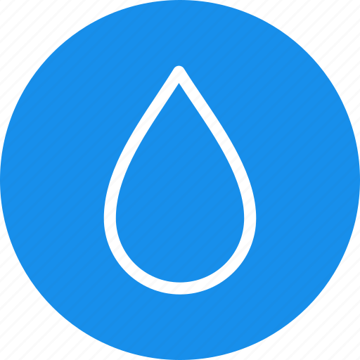 blood, blue, circle, drop, water, weather icon