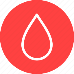 blood, circle, drop, red, water, weather icon