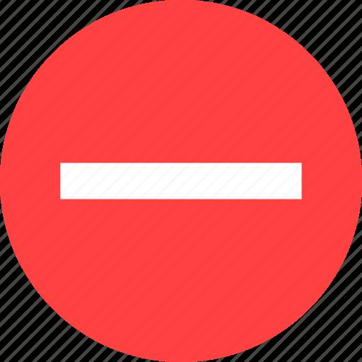 Cancel, close, delete, exit, minus, remove, yellow icon - Download on Iconfinder