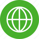 global, globe, green, international, language icon