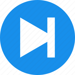 arrow, blue, circle, forward, next, right icon