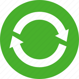 green, refresh, reload, renew, repeat, retweet, sync icon