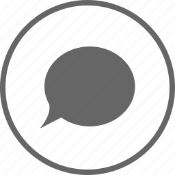 bubble, chat, comment, comments, message, talk icon