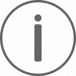 circle, help, info, information, learn more icon