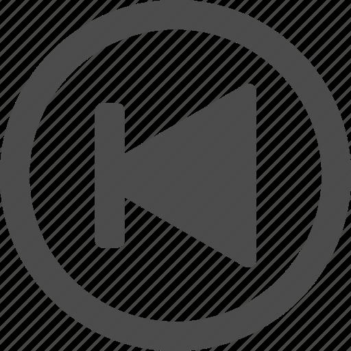 arrow, back, circle, left, next, previous icon