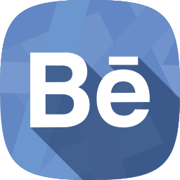 behance, portfolio, social network icon