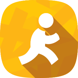 aim, chat, messages, social network icon