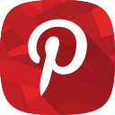 images, pinterest, social network icon