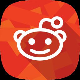 reddit, social network icon