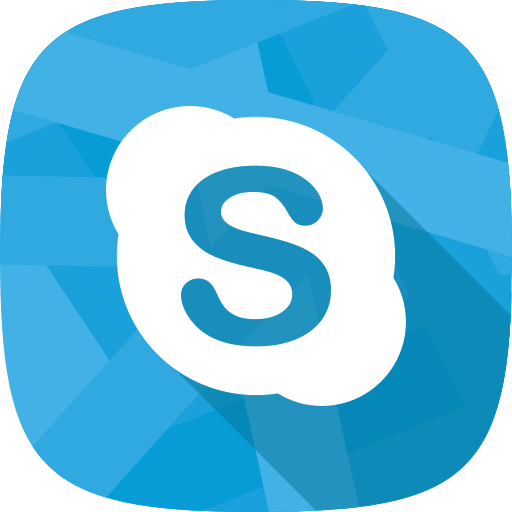 char, online conversation, skype, social network icon