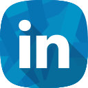 hr, linkedin, recruitment, social network icon