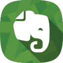 notes, evernote, social netowrk icon