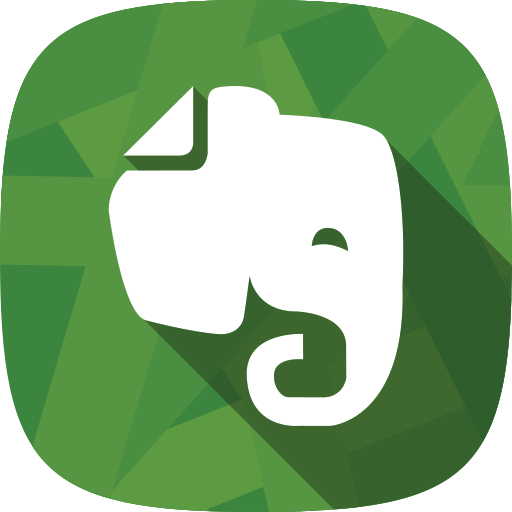 evernote, notes, social netowrk icon